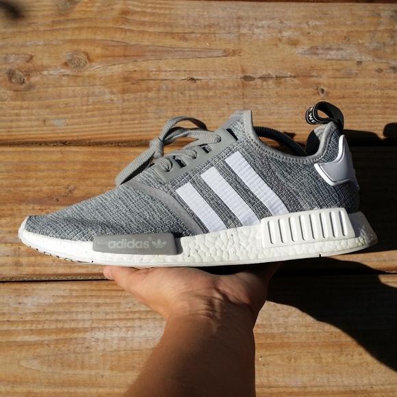 Shoes Adidas Nmd R1 Glitch Solid Grey Camo Poshmark